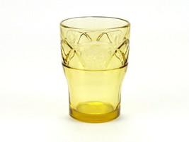 Federal Rosemary 9oz Tumbler, Amber Vintage Depression Glass Dutch Rose ... - $12.25