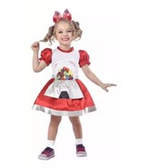 Gumball Machine Costume - Size Toddler 2T Dress Up Halloween New - $15.51