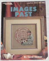 Images Past Cross Stitch Pattern Leaflet Leisure Arts - $4.00