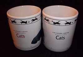 CAT LOVER MUGS Chartreux Turkish Van Brown Mackerel Tabby Siberian Abyss... - $23.71