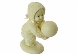 Department 56 Porcelain Figurine Christmas decor Snowbabies Volleyball R... - $24.14