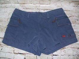 Women's Vintage Abercrombie & Fitch Navy Cargo Parasurf Boardshorts Size 10 - $18.99