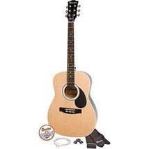 "Maesto by Gibson - MA38NACH - Natural Finish 38"" Parlor Size Acoustic Gu... - $138.55"