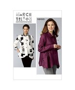 Vogue Patterns 9153 Y Sizes X-Small - Medium Misses Shirt Sewing Pattern... - $15.68