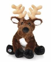 Reindeer Christmas Seasonal Webkinz Beanbag Plush Only HM137 No Code - $5.34