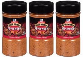McCormick Grill Mates Applewood Smoked Salt Seasoning  Dry Rub Pork BBQ Ribs Rib - $26.73