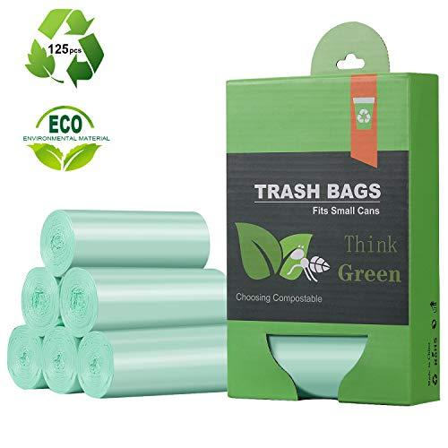 Primary image for 1.2 Gallon Small Trash Bags Garbage Bags, Mini Compostable Strong Bathroom Waste