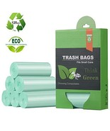 1.2 Gallon Small Trash Bags Garbage Bags, Mini Compostable Strong Bathroom Waste - £17.74 GBP