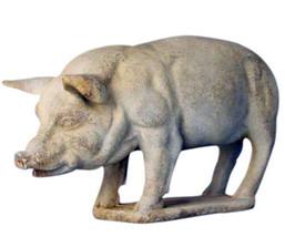 "Pig Statue Sculpture 26"" - $117.81"
