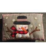 Christmas Decor Pillow  34690SP-Snowman Pillow  - $10.95
