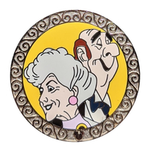 Aristocats Disney Lapel Pin: Madame Bonfamille + Edgar - $29.90