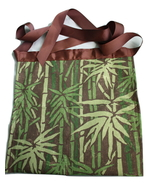 Apron Toolbelt - womens bamboo print handmade craft, cleaning, gardening... - $12.00