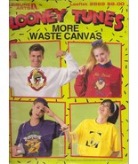 Looney Tunes More Waste Canvas Book  Cross Stitch Patterns Leisure Arts ... - $6.99