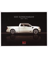 2007 Saleen S331 SUPERCHARGED sales brochure folder F150 07 - $9.00