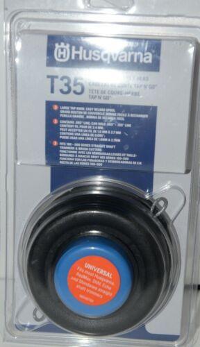 Husqvarna 537388101 T35 Tap n Go Trimmer Head Black package of 1