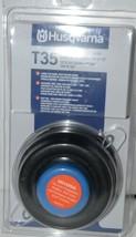 Husqvarna 537388101 T35 Tap n Go Trimmer Head Black package of 1 image 1