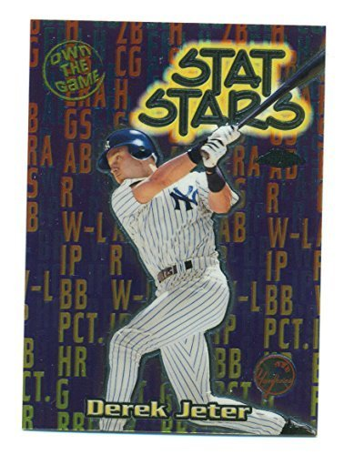 2000 Topps Chrome Derek Jeter #OTG12 Own The Game - New York Yankees - Baseball