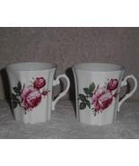 Royal Grafton Mug Set 2 Fine Bone China Tea Coffee Pink Rose - $25.00
