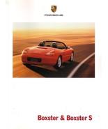 2002 Porsche BOXSTER sales brochure catalog US 05 S - $12.00
