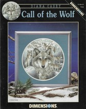 Cross Stitch Pattern/Chart-DIMENSIONS-Call of the Wolf-Diana Casey - $3.95