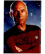 PATRICK STEWART  Authentic Autographed Signed Photo w/COA   - $105.00