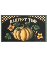 Thanksgiving Harvest Time Decorative Door Floor Mat Kitchen Gift  - $38.00