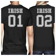 Irish 01 Irish 02 Black Funny Couple T Shirts For St Patricks Day - $30.99+