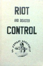 Riot and Disaster Control by The Combat Bookshelf 1975, PB, New, Free Sh... - $14.82