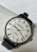 """GREAT"".1950'S PAUL PEUGEOT JEWELED MEN'S OLD STOCK WATCH ""SUPER NICE"" - $123.75"