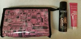 Redken Cosmetic Bag, Pillow Proof Blow Dry Express 1oz & Hairspray 2oz - $11.30