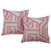 Modway Two Piece Outdoor Patio Pillow Set Tapestry EEI-2401-TAP - $43.50