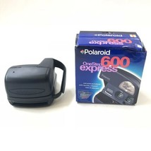 Polaroid Blue One Step Express 600 Instant Film Camera with box - $59.35