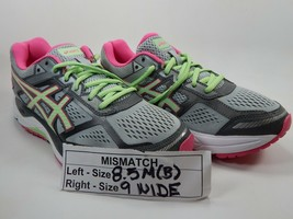 Mismatch Asics Gel Foundation 12 Taglie 8.5 M B Sinistra & 9 D Largo Destro