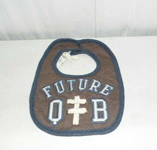 Mud Pie Future Quarterback Football Baby and Infant Boy Bib - $9.85