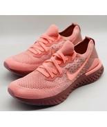NEW Nike Epic React Flyknit 2 Pink Tint BQ8927-600 Women's Size 9.5 - $138.59