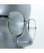 Reading Glasses Shiny Gray Metal Small Square Frame +1.50 Lens - $16.00