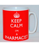 Keep Calm I'm A Pharmacist Mug Can Personalise Funny Chemist Technician ... - $11.64