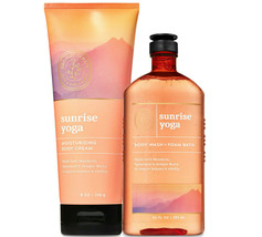 Bath & Body Works Sunrise Yoga Aromatherapy Body Cream + Body Wash Duo Set - $34.95