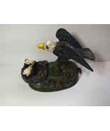 Reproduced Jon Wright Book of Knowledge Mechanical Cast Iron Eagle Eagle... - $98.01