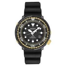 AUTHORIZED DEALER Seiko SNE498 Men's Black Rubber Solar Diver 47mm Watch - £269.15 GBP