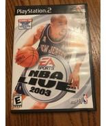 NBA Live 2003 (Sony PLAYSTATION 2, 2002) Schiffe n 24h - $26.73