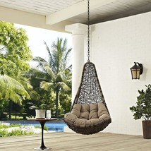 Deluxe Swing Chair Indoor Outdoor Garden Patio Stylish Sturdy Luxurious ... - $332.05