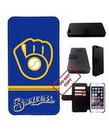 10 kinds Baseball team, Brewers iphone 7 wallet case, 10 kinds Baseball ... - $16.82