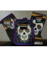 Halloween Day of the Dead Sugar Skull Kitchen Set - $9.70