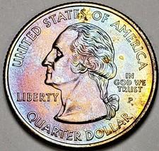 2005-P CALIFORNIA  STATE QUARTER MULTI COLOR TONED CHOICE BU GREAT CONDI... - $22.76