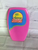 Vintage 80s Mattel California Dream Barbie Surf N Shop Accessory Pink Bo... - $11.87