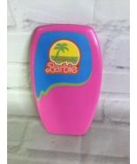 Vintage 80s Mattel California Dream Barbie Surf N Shop Accessory Pink Bo... - $11.87
