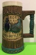 """Vintage Stein 1805 Bird & Bottle Inn 8"""" Log Look Collectable - $22.44"""