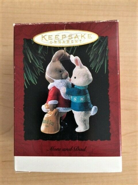 Mom & Dad - 1994 Hallmark Collector's Club Keepsake Ornament