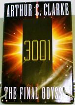 3001 The Final Odyssey by Arthur C. Clark BC HC DJ 1997 - $3.95